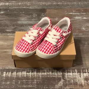 Link | Red and White Comfort shoes